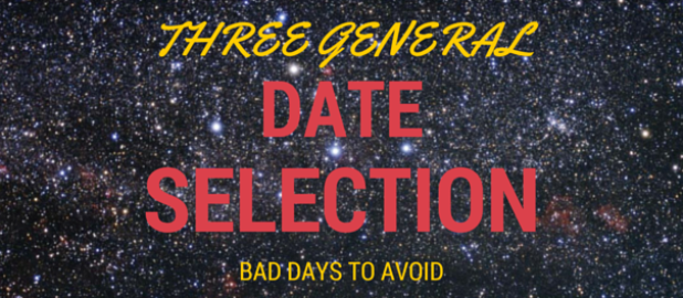 3 general dates to avoid in date selection